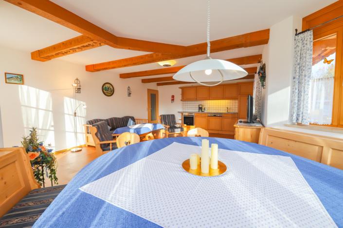 Wohnküche Ferienwohnung Seekar