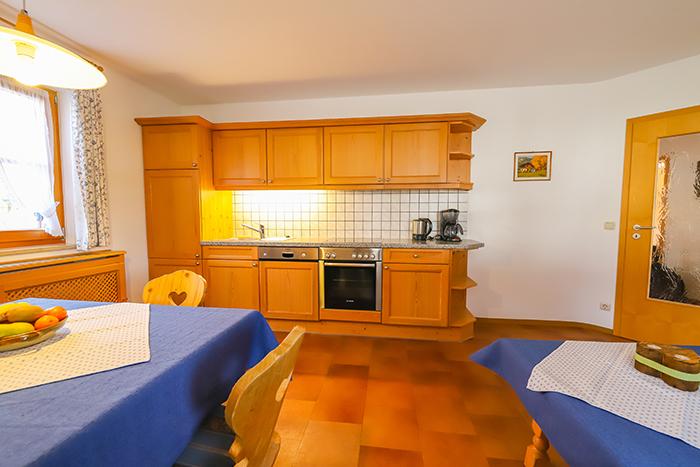 Küche Ferienwohnung Brauneck